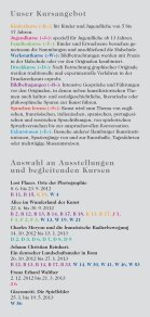 Kurse Kurse - Hamburger Kunsthalle - Seite 3