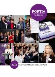 PORTIA - Victorian Women Lawyers