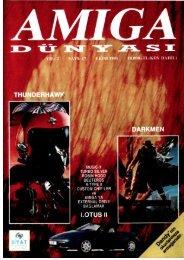 Amiga Dunyasi - Sayi 17 (Ekim 1991).pdf - Retro Dergi