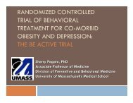 Sequential Depression and Weight Loss Treatment for Obese ...