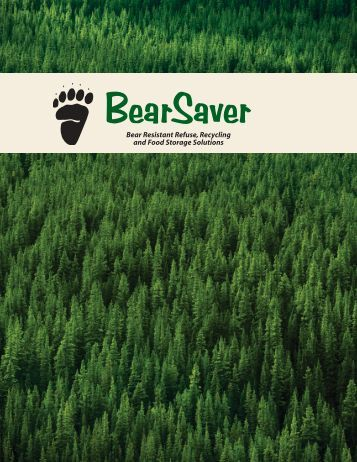 New! BearSaver Products Brochure!