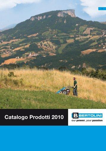Catalogo Prodotti 2010 - Bertolini