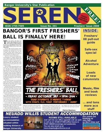 bangor's first freshers' ball is finally here! - Seren - Bangor University