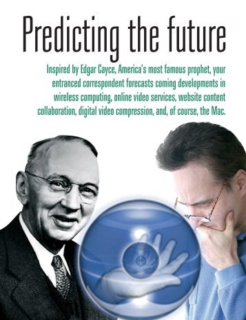 Inspired by Edgar Cayce, America's most famous prophet - Graphic ...