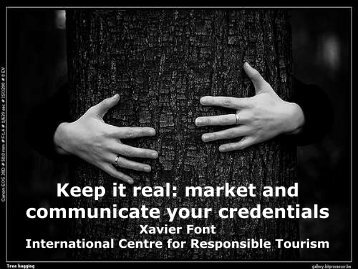 Xavier Font Marketing your sustainability credentials - Responsible ...