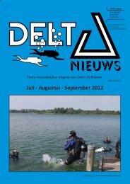 Juli - Augustus - September 2012 - Delta Duikteam