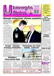 2013-01-29 - Ukmergės žinios
