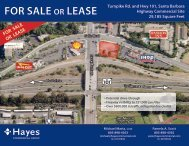FOR SALE OR LEASE - Hayes Commercial Group