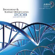 Untitled - American Society for Histocompatibility and Immunogenetics