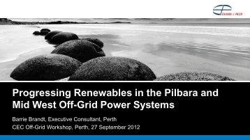 Renewable Energy Off-Grid Presentation - WorleyParsons.com