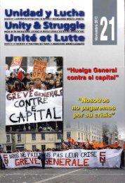 Unidad y Lucha - Frente Popular Revolucionario, FPR - Oaxaca ...