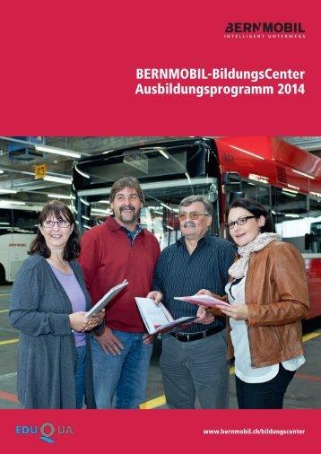 Ausbildungsprogramm 2014.pdf - Bernmobil