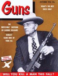 GUNS Magazine October 1956