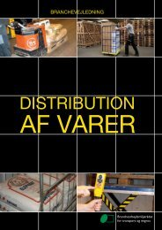 Distribution af varer - BAR transport og engros