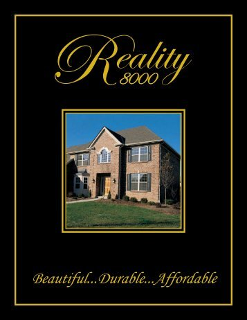 Reality 8000 - Target Custom Windows & Doors