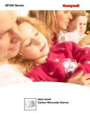 Honeywell SF340 Technical Data Sheet - Safefiredirect.co.uk