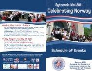 Monday, May 16, 2011 - 6:30pm Friday, May 20 ... - Norway House