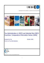 Tax Administration in OECD and Selected Non-OECD ... - AL-Tax