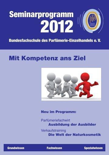 Seminarprogramm der Bundesfachschule des ...