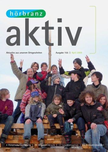 Nr. 155 April 2009 (6 91 MB) - Hörbranz