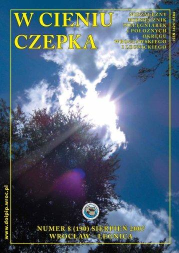 SIERPIEŃ 2007 ( 1344 kB) - Dolnośląska Okręgowa Izba ...