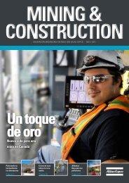 Nueva vida para una mina en Canadá - Atlas Copco