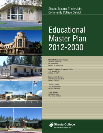 Educational Master Plan 2012-2030 - Shasta College