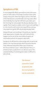 Rheumatoid Arthritis - Arthritis New Zealand - Page 5