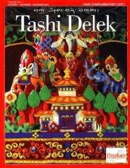 Cover Fall 2004 - Rainbow Photo Tours Bhutan