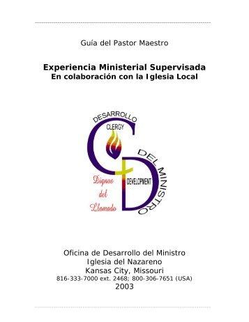 Experiencia Ministerial Supervisada - USA / Canada Region