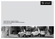 smart fortwo coupé & cabrio, smart fortwo BRABUS ... - Neils und Kraft