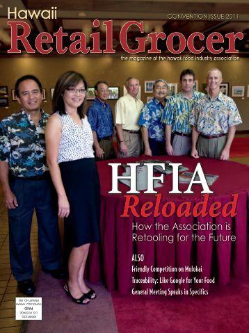 Read magazine - Hawaii Food Industry Assocation - HFIA