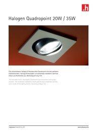 Halogen Quadropoint 20W / 35W - halemeier