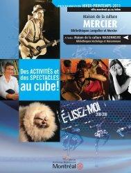 Bibliothèques Langelier et Mercier - Accès Culture