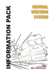 Central West System Information Pack - Issue 2 ... - Queensland Rail