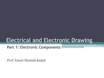 Lecture #1 Handout - Yasser Kadah's Home Page