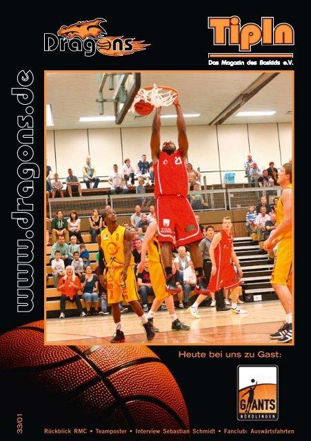 TipIn Ausgabe 33/01 - Dragons Rhöndorf