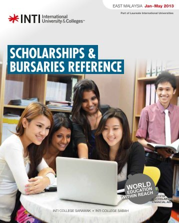 scholarships & bursaries reference - INTI International University