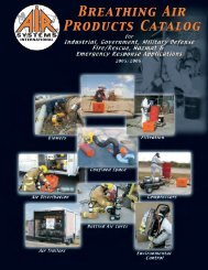 Air Systems Full Line Catalog - Envirosafety Confined Space Safety ...