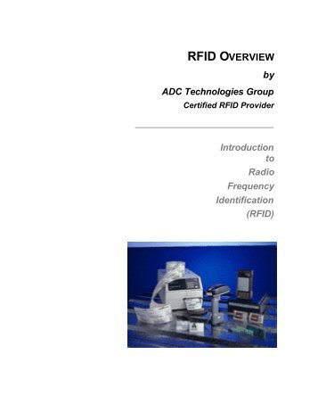 RFID Overview - ADC Technologies