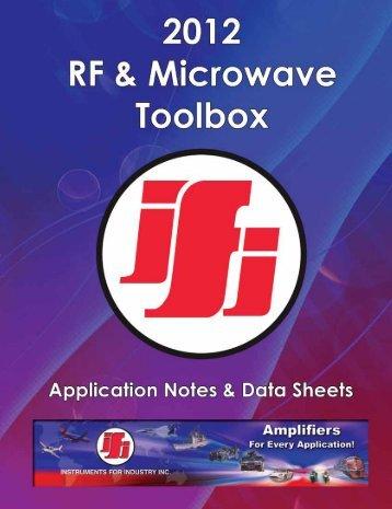 IFI_toolbox - Westek Electronics