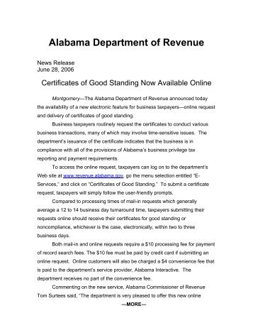 www dir alabama gov THE ALABAMA CHILD LABOR LAW - Alabama.gov