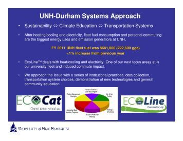 UNH's CNG Program - Granite State Clean Cities Coalition