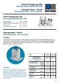 Laufwagen-Schleifmaschinen - REFORM Maschinenfabrik Adolf ... - Seite 7