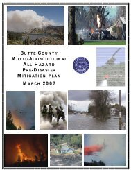 Butte County MHMP - State of California