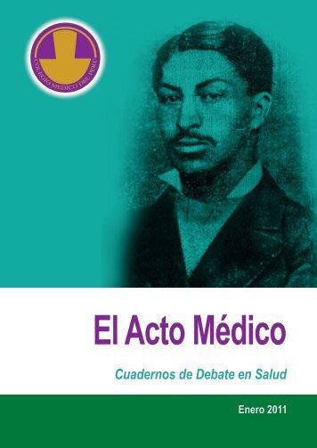 El Acto Médico - Bvs.minsa.gob.pe - Ministerio de Salud