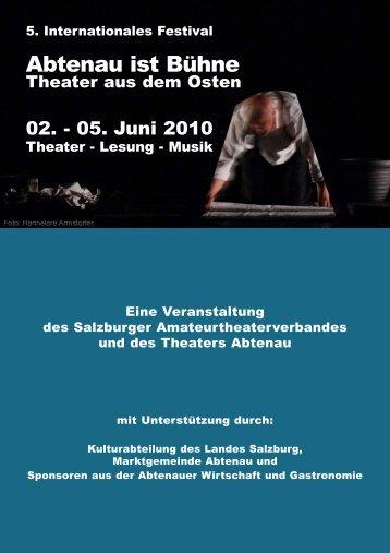 Lesung - Musik - Theater Abtenau