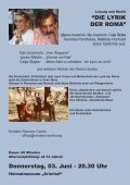 Lesung - Musik - Theater Abtenau - Seite 6