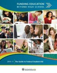 Funding Education Beyond High School - ED Pubs