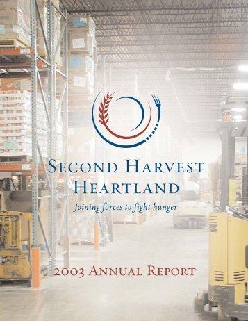 annual report 2003.qxd - Second Harvest Heartland